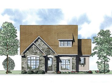 European House Plan, 025H-0250