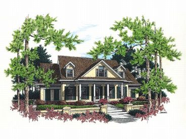 Sunbelt House Plan, 021H-0154