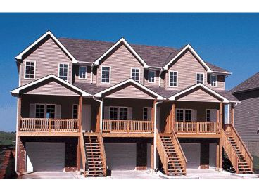 Townhouse Plan Photo, 031M-0024