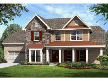 Family House Plan, 061H-0168