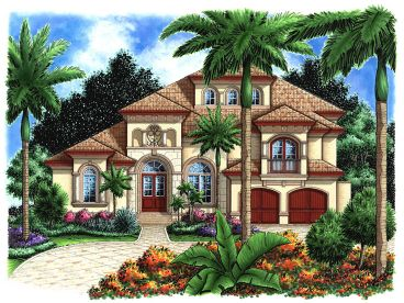 Florida House Plan, 037H-0040