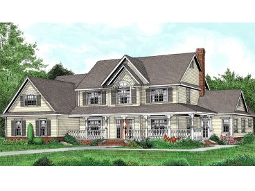 Two-Story Home Design, 044H-0050