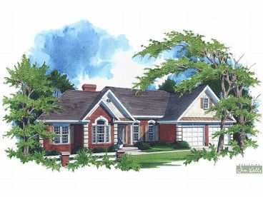 Traditional House Plan, 007H-0059