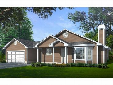 Affordable Home Plan, 026H-0043