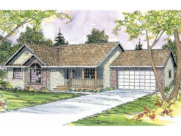 Affordable House Plan, 051H-0061