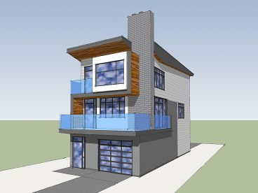 Contemporary House, 056H-0005