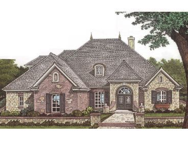 European Home Plan, 002H-0040