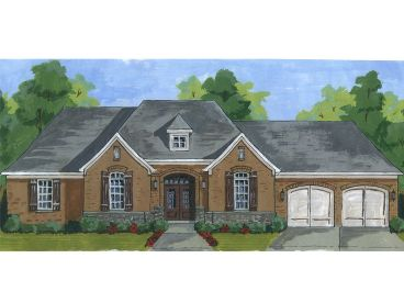 One-Story Home Plan, 046H-0098