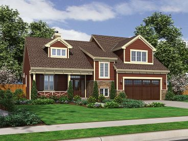Craftsman House Plan, 046H-0001