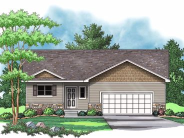 Small House Plan, 023H-0158