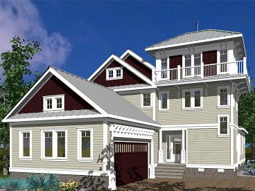 Unique House Plan, 058H-0029