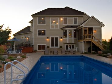Rear Photo & Pool, 023H-0118