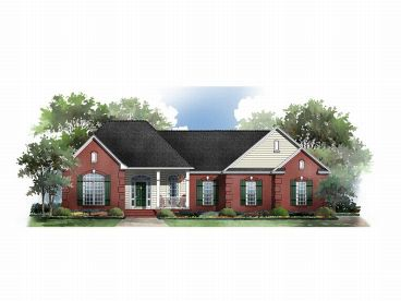 One-Story Home Plan, 001H-0063