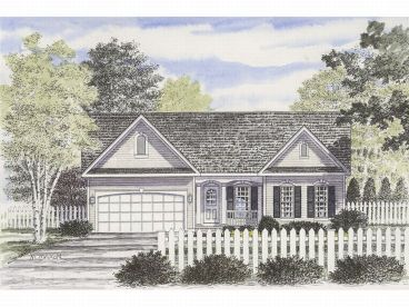 Affordable Home Plan, 014H-0008