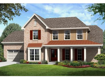 Family House Plan, 061H-0181