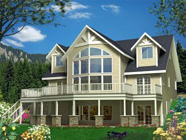 Mountain Home, Rear, 012H-0131