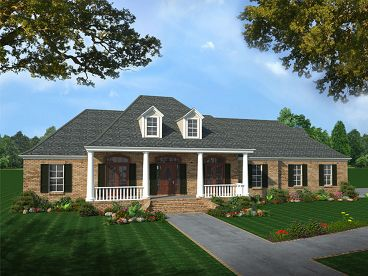 Ranch House Plan, 001H-0110
