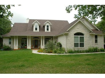 1-Story Country Home, 036H-0070