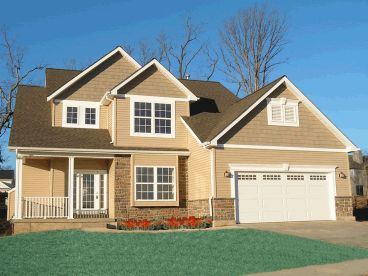 2-Story Home Plan, 031H-0131