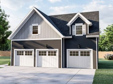 Garage Apartment Plan, 050G-0071