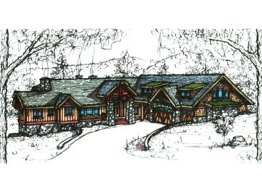 Mountain Home Design, 025H-0206