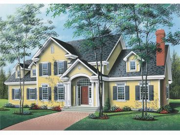 Two-Story Home Design, 027H-0029