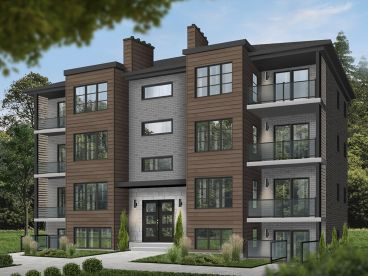 8-Unit Multi-Family Plan, 027M-0082