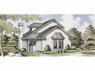 Love Shack Home Plan, 021H-0010
