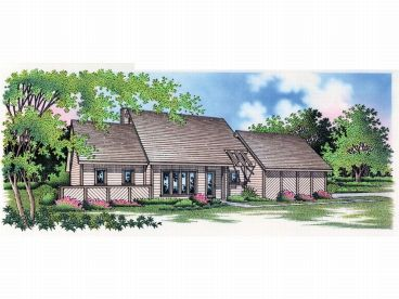 Contemporary Home Plan, 021H-0030