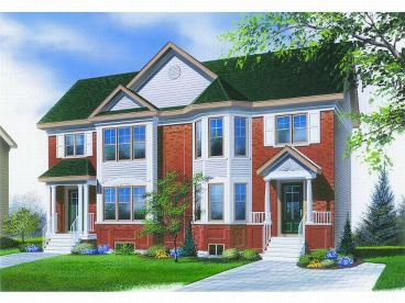 Duplex Home Design, 027M-0012