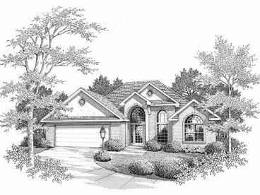 1-Story Home Plan, 004H-0054