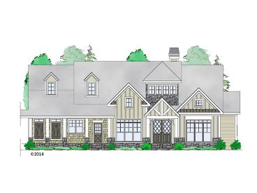 Mountain House Plan, 053H-0085