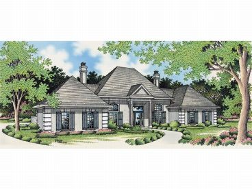 Sunbelt Home Plan, 021H-0104