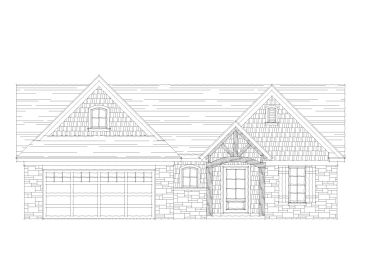 Ranch House Plan, 062H-0120
