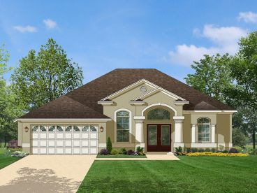 Sunbelt House Plan, 064H-0023