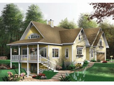 Traditional House Plan, 027H-0112