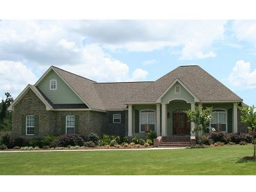 One-Story Home Plan, 001H-0171