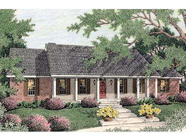 Ranch House Plan, 042H-0031