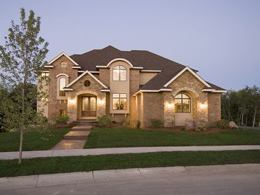 European House Plan, 007H-0138