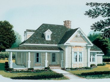 One-Story House Plan, 054H-0088