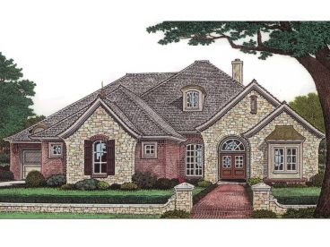 European Home Plan, 002H-0053