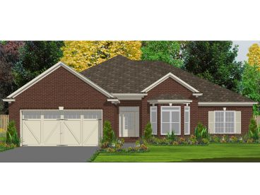 Traditional House Plan, 073H-0131