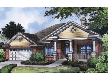 Affordable Home Plan, 043H-0026