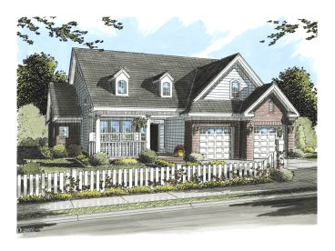 Traditional House, 059H-0083