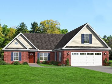 Traditional House Plan, 062H-0096