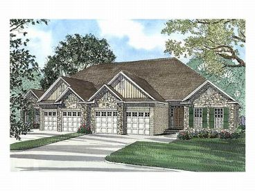 Multi-Family Home Design, 025M-0041