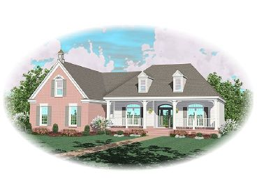 Ranch House Design, 006H-0105