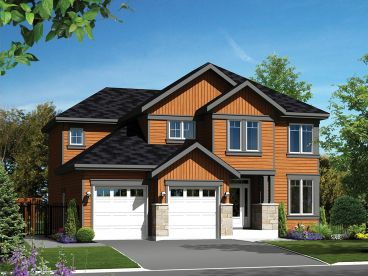 Two-Story House Plan, 072H-0142