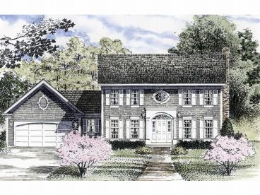 New england classic colonial house plans house design plans for Modern colonial house plans