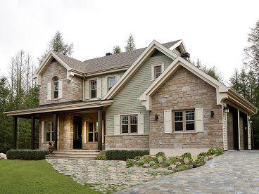 Country House Plan, 027H-0339